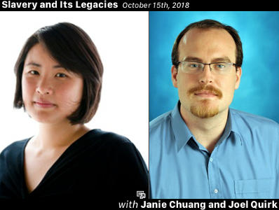 Janie Chuang and Joel Quirk on the Impacts of Terminology in the Modern Anti-trafficking Movement
